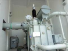 Photo of 72.5kV Oil -SF6 Transformer Bushing Installation in Kazuo, Liaoning