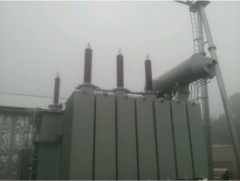 Photo of 126kV Transformer Bushing Installation in Yichang, Hubei Province