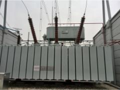 Photo of 252kV Transformer Bushing Operation in Hubei Xiantao
